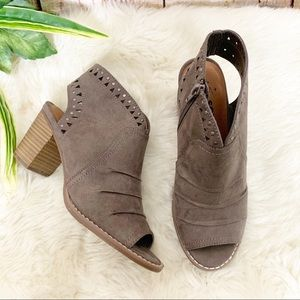 Sonoma Temper Open Toe Booties
